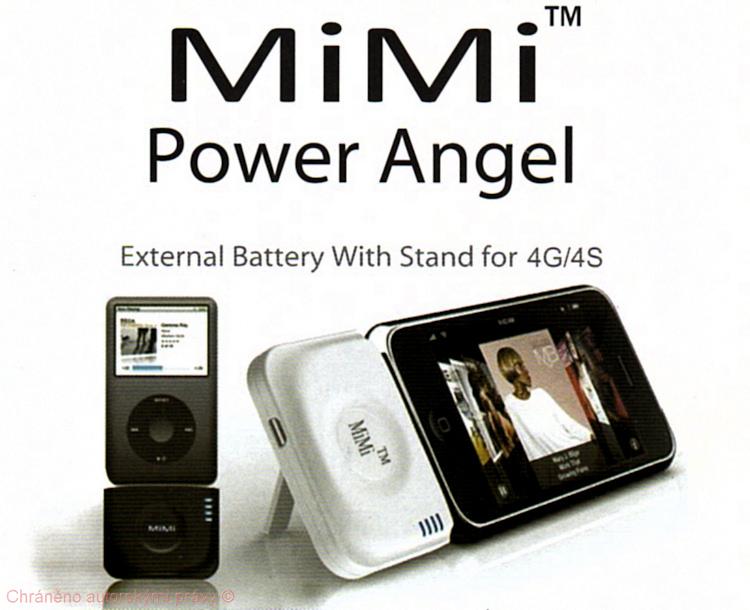 Power Station 2000mAh pro iPhone 4S černá