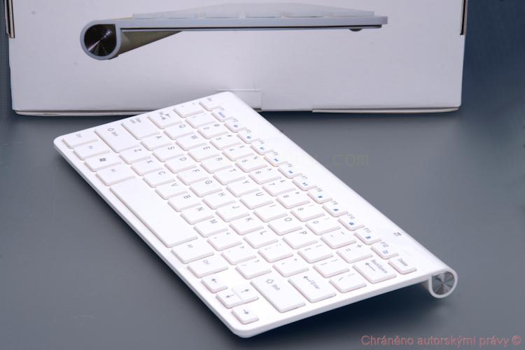 Tenká bezdrátová SLIM klávesnice Android, PC