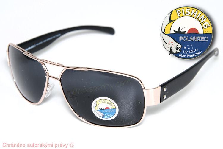 Polarizované sluneční brýle WiTHGO 3028 zlaté