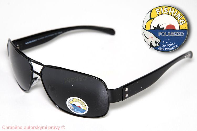Polarizační sluneční brýle WiTHGO 3028 černé