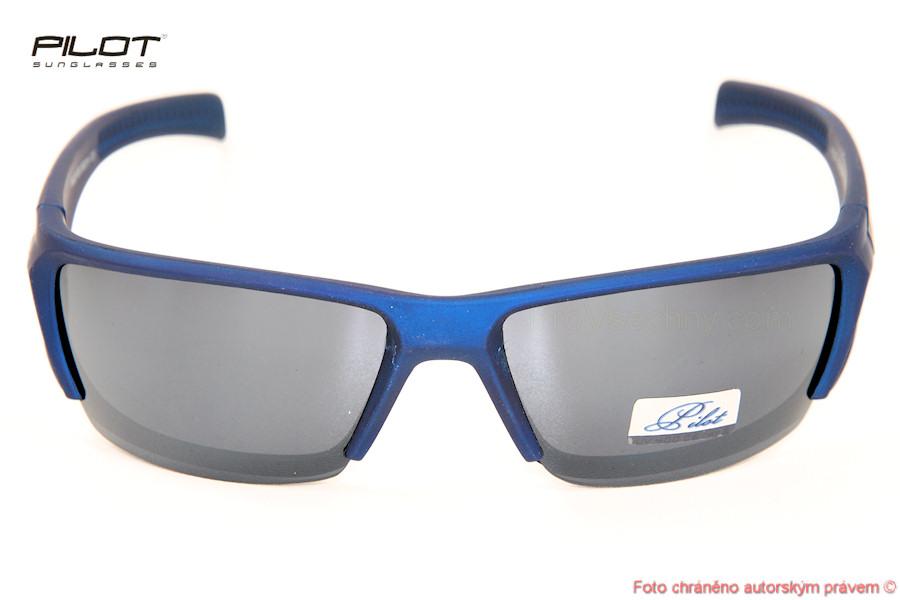 Sluneční brýle PILOT PSJ201050 modré obroučky