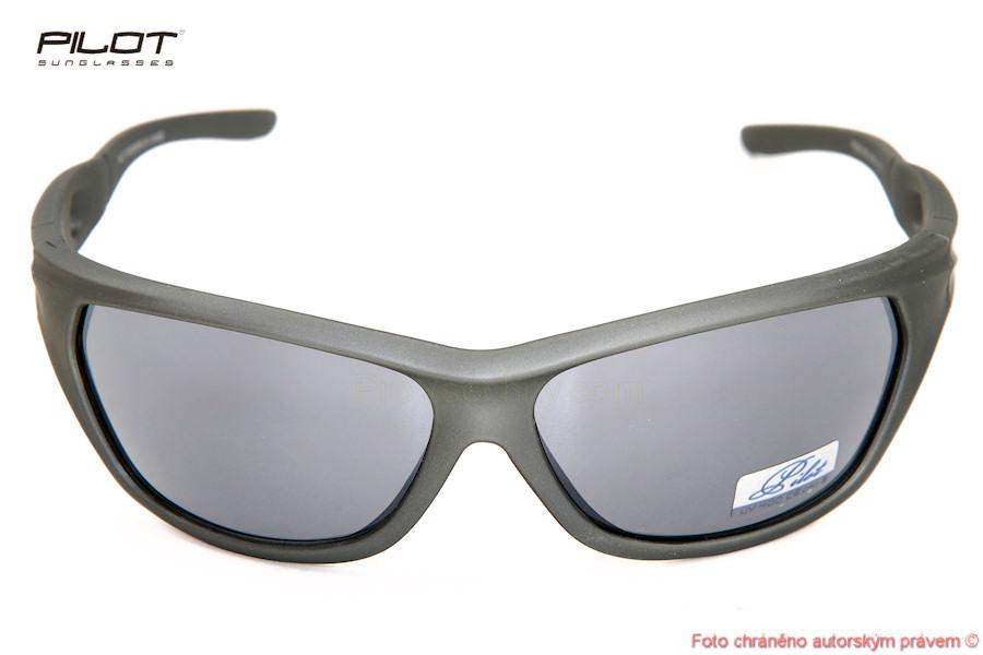 Sluneční brýle PILOT PSJ201052 stříbrné obroučky