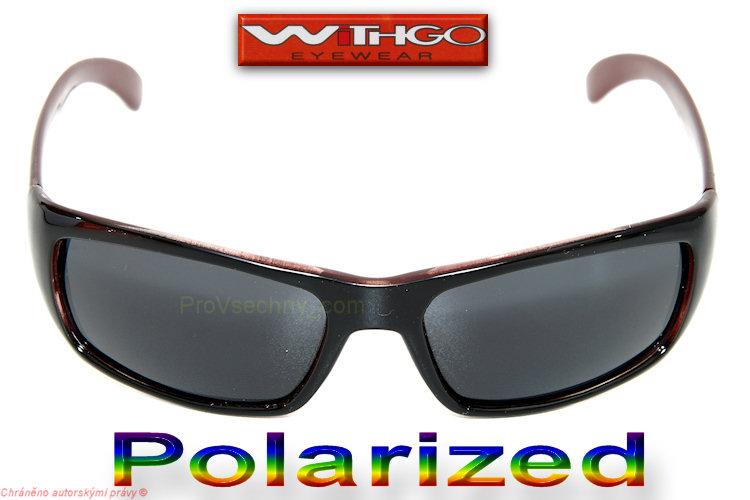 Polarizované, polarizační brýle WiTHGO 4014 bordo