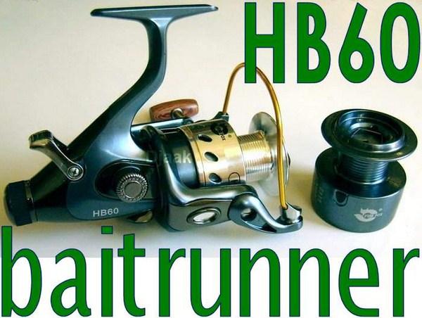 Naviják HB60 s 12 plus 1 ložisek a baitrunner